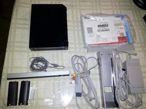 Nintendo Wii Negro+3juegos Originales+ Accesorios