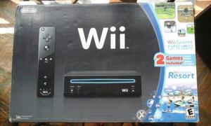 Nintendo Wii Sport Resort Y Accsesorios Sin Chipear