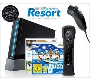 Nitendo Wii Con Accesorios + 7 Juegos Originales!
