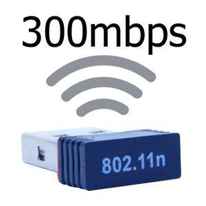 Receptor Adaptador Tipo Pendrive 300mbps Wifi n Usb