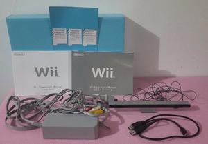 Vendo Combo Nintendo Wii Y Unidad Chipeado 2 Controles 2 Vol
