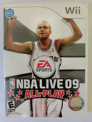 Videojuego Original Nintendo Wii: Nba Live 09 (all-play)