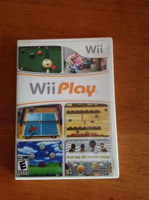 Wii Play Juego Original + Wii Sports