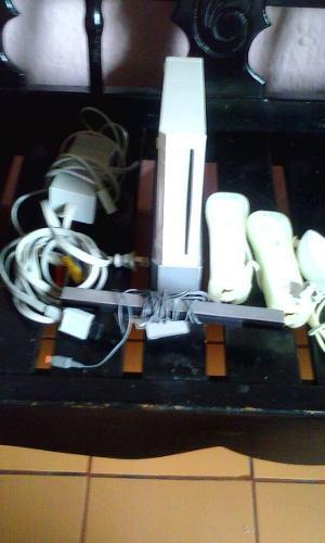 Wii Poco Uso Con Diversos Juegos Mas De 15 Juegoschipeado