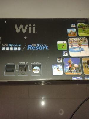 Wii Sport Resort Consola Negra