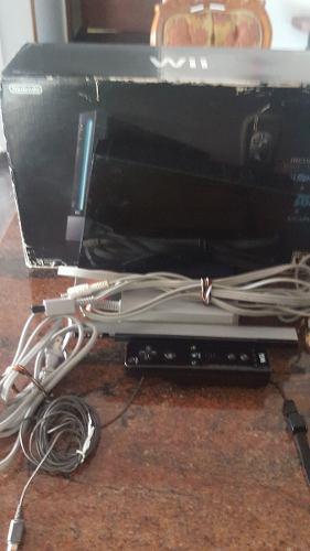 Wii Usado Con Un Control Y Sensor De Movimiento