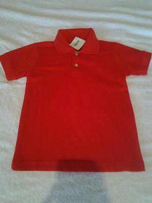 Chemises Rojas, Amarillas Blancas Azules Y Beis Escolares