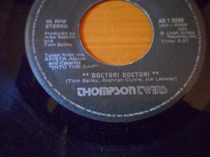 Discos De Vinil 45 Rpm Tom Bailey Doctor Doctor