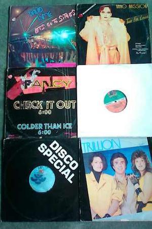 Discos Vinyl Remixes Nacionales Music 80s