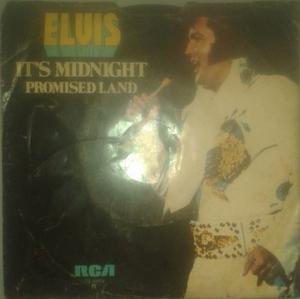 Elvis Presley - It's Midnight /promised Land Vinyl, 7 45rpm