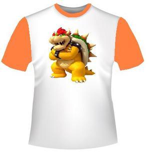 Franelas De Mario Bros Para Niños