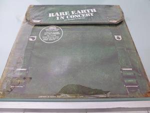 Lp / Rare Earth / In Concert / Album Doble / Nacional /