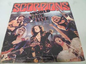 Lp / Scorpions / World Wide Live / Lp Doble / Nacional /