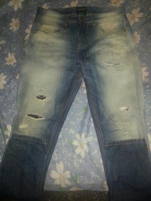 Nike Pantalon Pull And Bear Jeans Nuevo