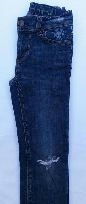 Pantalón Jeans para Niño Tommy Talla 5