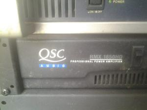 Power Amplificador Qsc Rmx hd