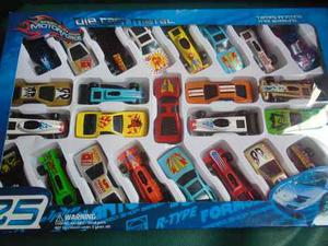 Set De 25 Carritos De Juguete Para Niños Carro