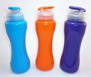 Termos Cooler D Agua Plastico Niños Colegio Gym Deportes