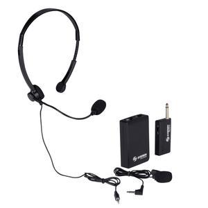 microfono de cintillo y balita inalambrico