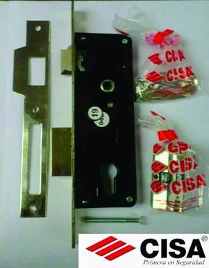 Cerradura Cisa De 35mm Para Embutir Con Cilindro Pestillo
