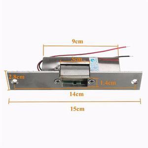 Cerradura Hembrilla Electrica Control De Acceso 12v