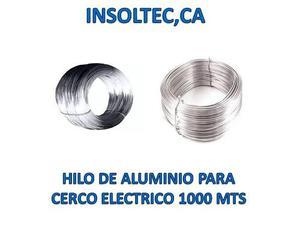 Hilo De Aluminio Para Cercos Eléctricos  Metros