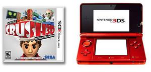 Nintendo 3ds + 1 Juego Crush3d Original
