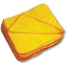 Paños De Lanilla Amarillos 30x30 Cm