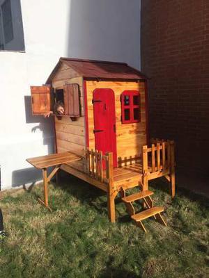 (casita) Casa De Juegos Para Niños -madera