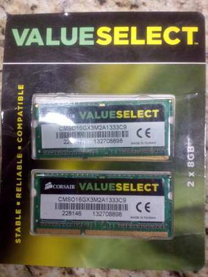 16 Gb Memoria Ram Ddr3 Para Laptop Corsair