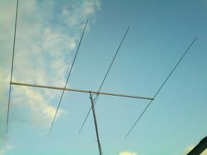 Antena Radioaficionado Yagi 4 Elementos Para 10 Y 11 Metros