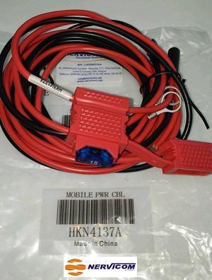 Cable De Alimentacion Para Radio Movil Motorola (original)