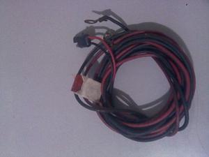 Cable De Alimentacion Para Radio Transmisor Uhf O Vhf