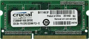 Crucial Ddr3 2gb -  Laptop Entrega A Domicilio Gratis