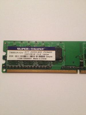 Memoria Ram Super Talen 1gb/128x8 Ddr