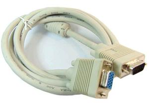 Cable Extension Vga Macho Hembra 1.8 Mts Con Filtro Grueso