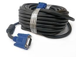 Cable Vga Y Dvi Negro Macho-macho