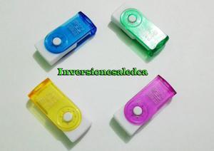 Lector De Memoria Micro Sd A Usb Adaptador