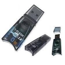 Lector De Memoria Micro Sd T-flash Usb 2.0