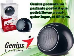 Mini Cornetas Portatiles Recargables Genius Sp-i170 De 2w