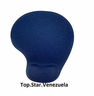 Mouse Pad Ergonómico, Reposa Muñeca En Gel. Azul Marino