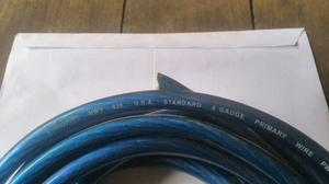 Cable Sonido #4 Audio Pipe Made In Usa