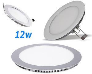 Lampara Led 12w Luz Blanca Para Techos Drywall Y Cielo Raso