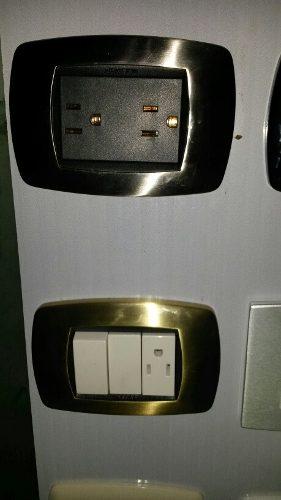 Toma Corriente De Lujo Master Interruptores