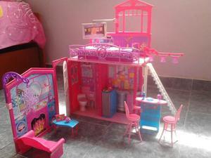 Casa De Vacaciones Barbie Original