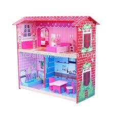 Casas De Muñeca Para Barbie En Mdf