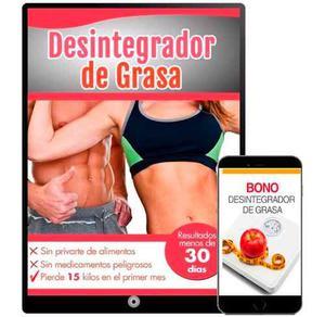 Desintegrador De Grasa + Bono + Obsequios Super Promocion