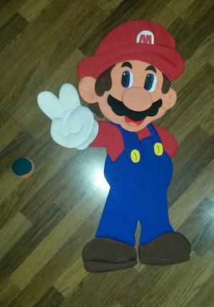 Figuras En Relieve Mario Bross Mickey Mouse Cars Thomas