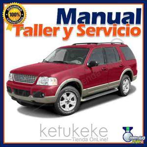 Manual De Taller Y Reparacion Ford Explorer