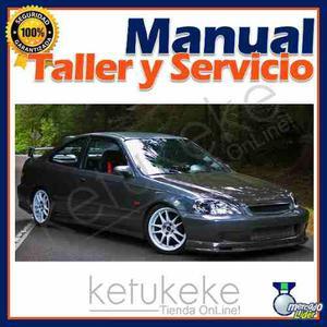 Manual De Taller Y Reparacion Honda Civic  Ingles